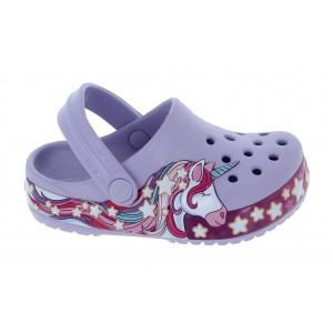 Crocs Fun Lab Unicorn Clogs - Lavender