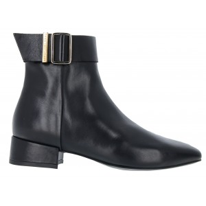 Tommy Hilfiger Leather Square Toe FW05165 Boots