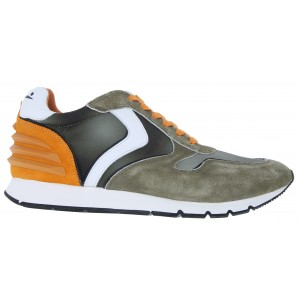 Voile Blanche Liam Power 2014594 Trainers - Green Suede
