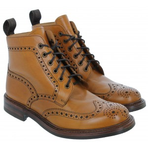 Loake Bedale Boots - Tan