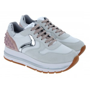Voile Blanche Maran Studs 2015809 Trainers - White Rose