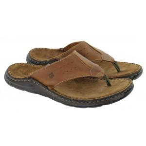 Josef Seibel Maverick 05 27105 Toe Post Sandals - Castagne