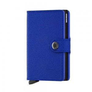 Secrid Mini Wallet Crisple- Blue/Black