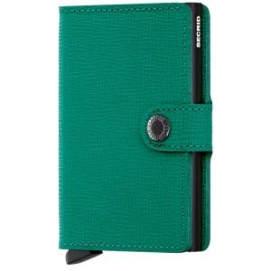 Secrid Mini Wallet Crisple - Emerald