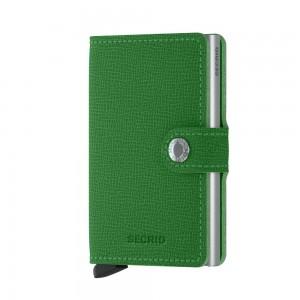 Secrid Mini Wallet Crisple- Light Green