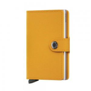Secrid Mini Wallet Crisple - Amber