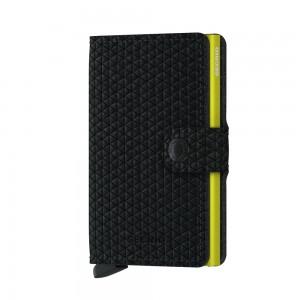 Secrid Mini Wallet Diamond- Black