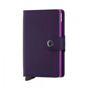 Secrid Mini Wallet Matte - Purple