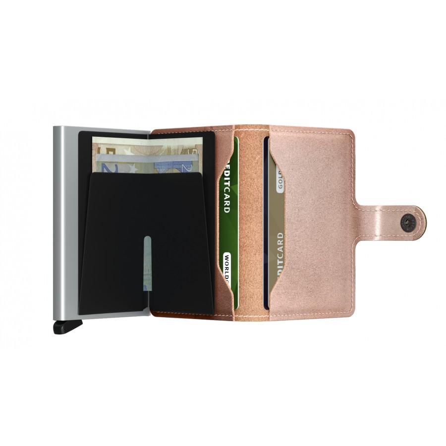 Mini Wallet Metallic - Rose Gold