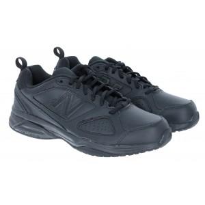 New Balance Mx624ab5 Black Leather