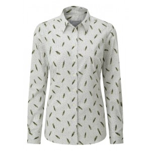 Schoffel Norfolk Shirt 4109 - Sprig Cedar