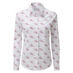 Schoffel Norfolk Shirt 4109 - Fig Pheasant