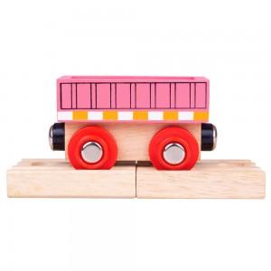 Bigjigs Pink Wagon BJT484