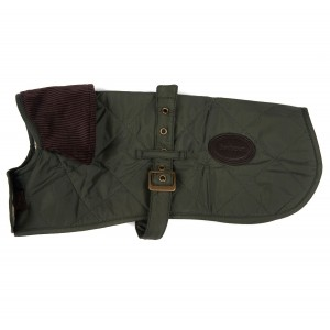 Barbour Quilted Dog Coat DCO0004GN91