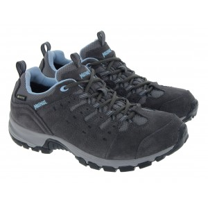 Meindl Rapide Lady GTX Boots - Anthrazite/Azur