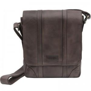 Prime Hide Ridgeback 673 Luggage Bag- Black Leather