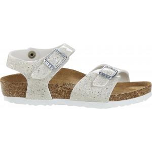 Birkenstock Rio  Kids Sandals - Cosmic Sparkle White