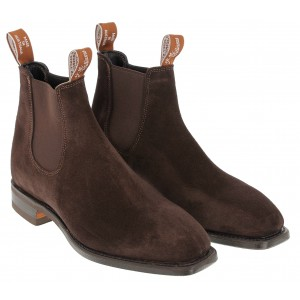 R. M. Williams Comfort Craftsman Boots - Brown Suede