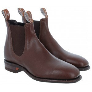 R. M. Williams Comfort Craftsman Boots - Dark Tan