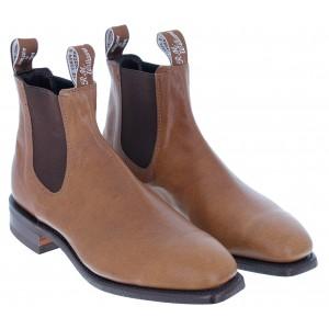R. M. Williams Comfort Kangaroo Craftsman Boots - Tan Bark