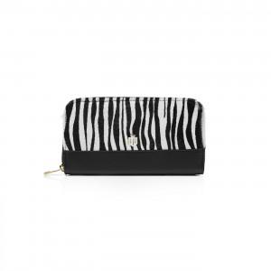 Fairfax & Favor Salisbury Purse Sal  Multi (Zebra) Leather