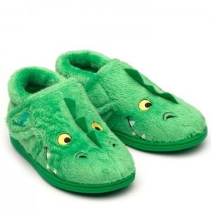 Chipmunks Scorch Slippers - Green