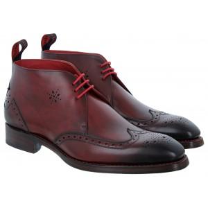 Jeffery West Shaken Boots - Burgundy