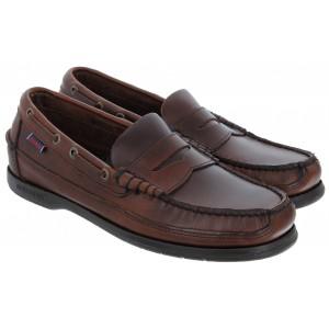 Sebago Sloop FGL Brushed 70002B0 Shoes - Brown Gum