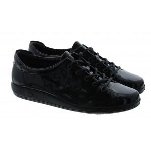Ecco Soft 2.0 206503 Shoes - Black Patent