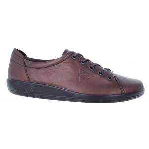 Ecco Soft 2.0 206503 Shoes - Fig Metallic