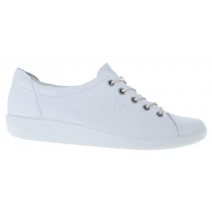 Ecco Soft 2.0 206503 Shoes - White