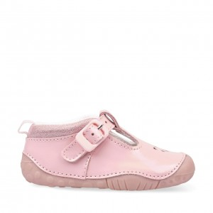 Start-Rite Baby Bubble Shoes - Pink Patent