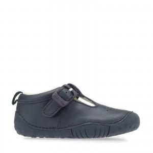 Start-Rite Baby Jack Shoes - Navy
