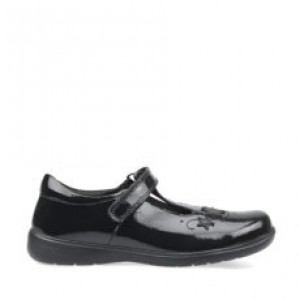 Start-Rite Star Jump School Shoes - Black Patent