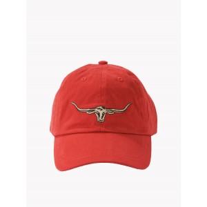 R. M. Williams Steershead Logo Cap - Red