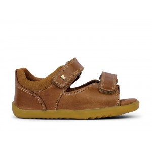 Bobux Step Up Driftwood 7286A Sandals - Caramel