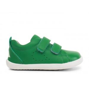 Bobux Step Up Grass Court 7289 Shoes - Emerald