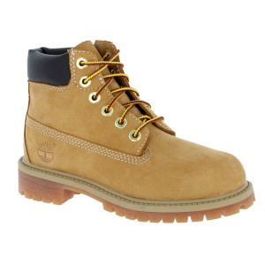 Timberland 6in Premium WP Youth Boots - Wheat