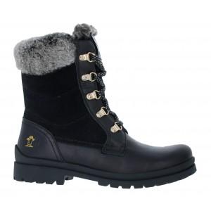 Panama Jack Tuscani Boots - Black