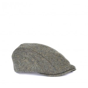 Barbour Tweed Cap MHA0389 _olive