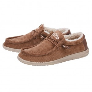 Hey Dude Wally Shoes- Tobacco