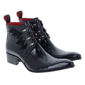 Jeffery West Winging It Boots - Glo Raz Black