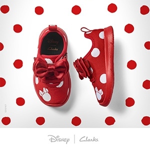 Clarks X Minnie Mouse