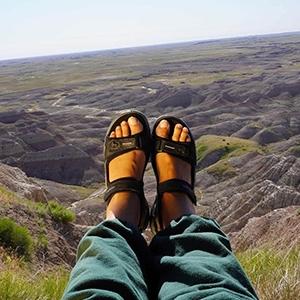 Ladies Walking Sandals