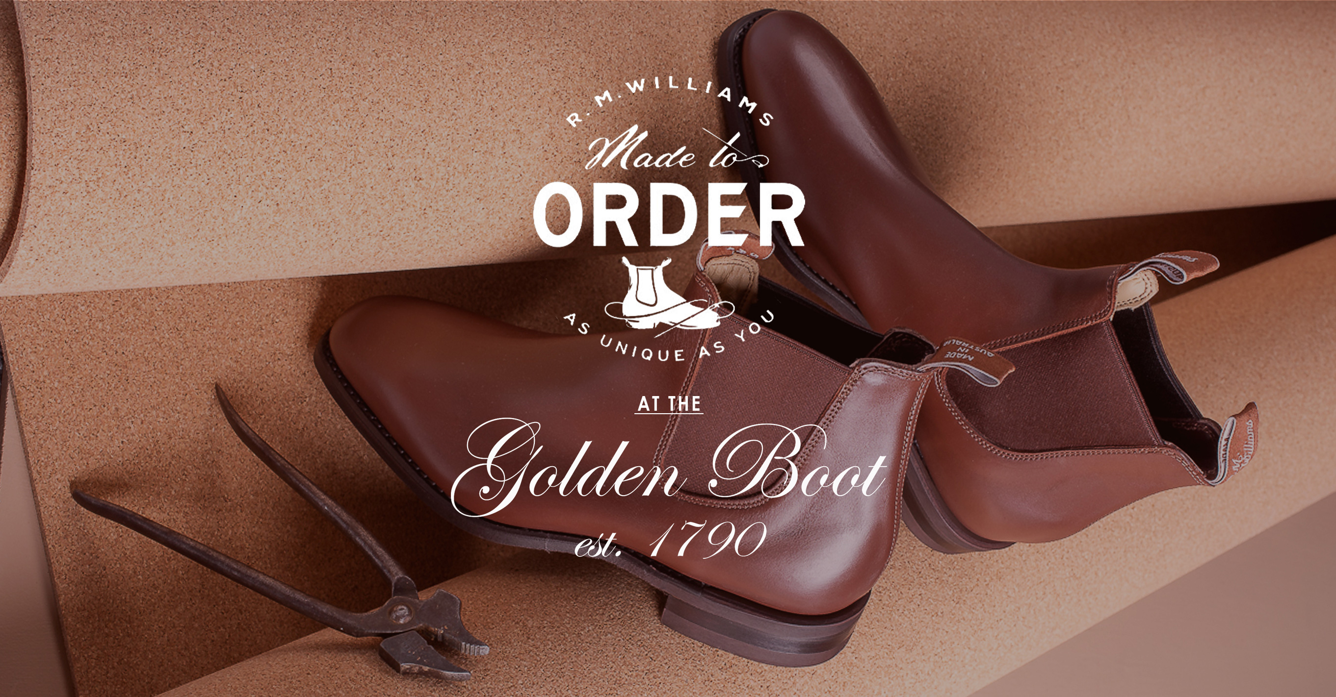 R. M. Williams boots made to order