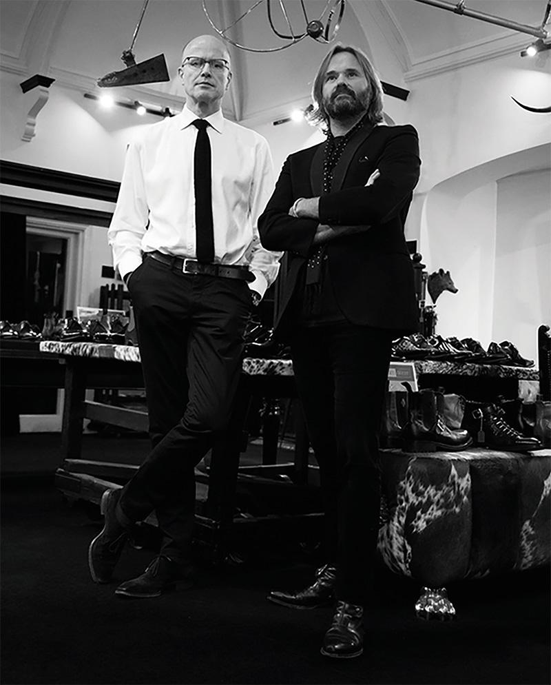 Mark Jeffery and Guy West