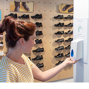 Sanitizer stations