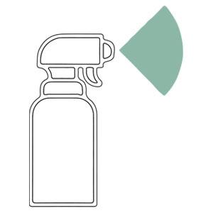 Frequent sanitizing
